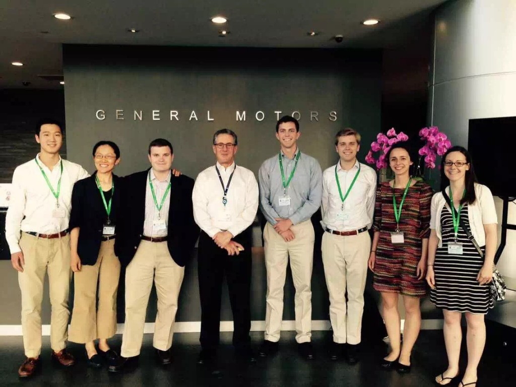 W&L at General Motors in China